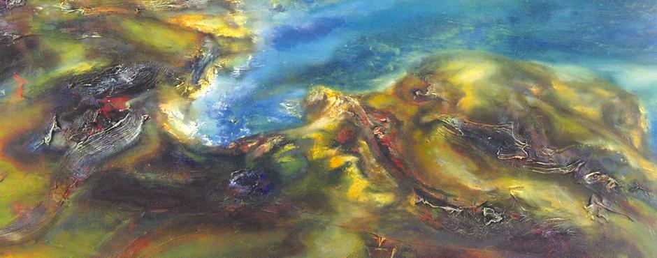 Summer Coastline DetailIwan Gwyn Parry